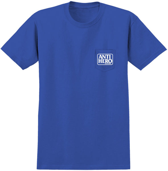 Antihero Reserve Pocket Tee / Royal Blue