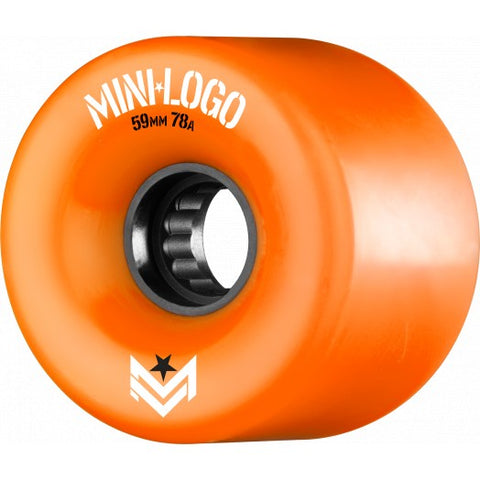 Mini Logo AWOL A-Cut Orange 59mm