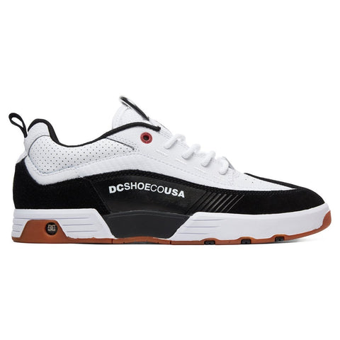 DC Legacy 98 Slim S / White / Athletic Red / Black