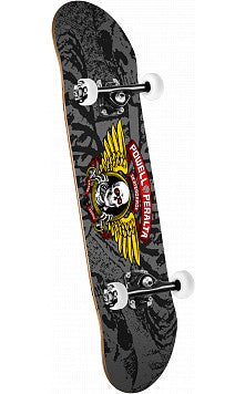 Powell Peralta Winged Ripper Complete Skateboard 8""