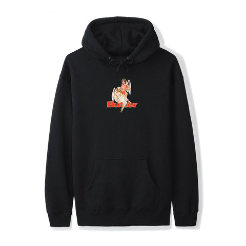 Butter Goods Heavenly Pullover Hood / Black
