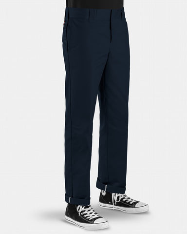 Dickies 873 FLEX Slim Straight Leg Work Pants / Dark Navy