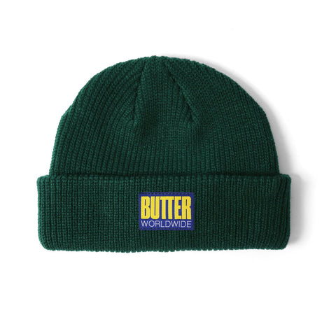 Butter Goods Hike Wharfie Beanie / Forest