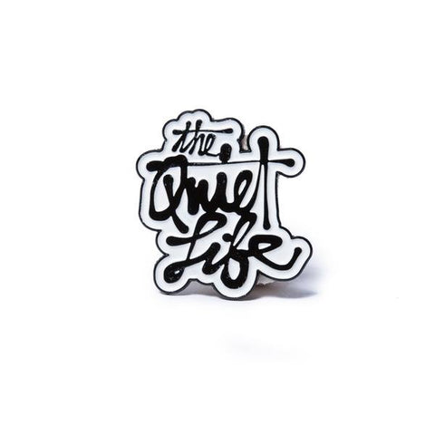 The Quiet Life Cody Script Lapel Pin
