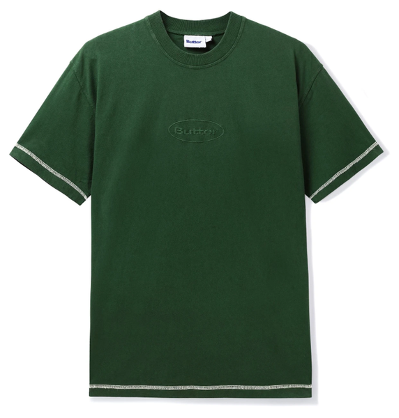 Butter Goods Chain Stitch Tee / Foliage