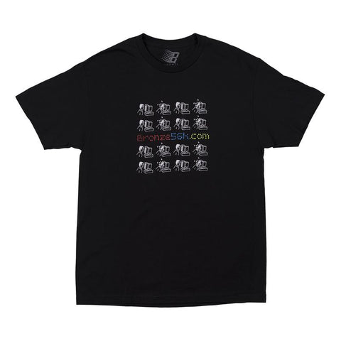 Bronze 56k Mondays Tee / Black