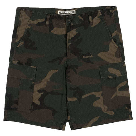 Independent No BS Ripstop Cargo Shorts / Camo