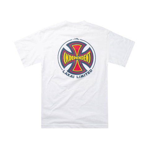 Lakai x Independent Tee / White