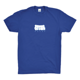AfterHours School Folder Tee / Royal Blue