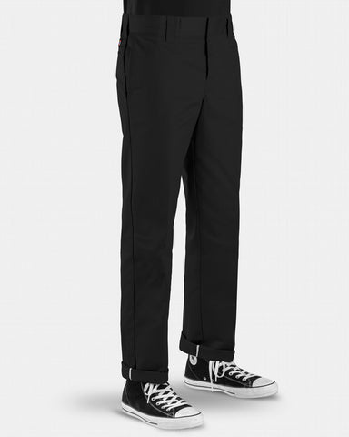 Dickies 873 FLEX Slim Straight leg Work Pants / Black