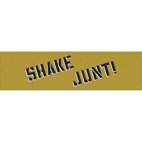 Shake Junt Stencil Grip Tape / Gold