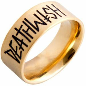 Deathwish Band Ring / Gold