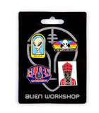 Alien Workshop Pin Set