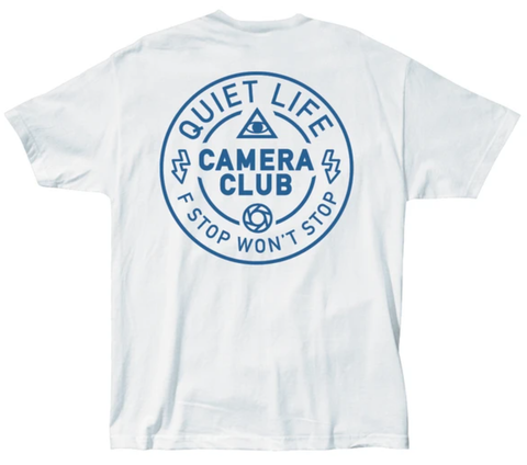 The Quiet Life Won't Stop Tee / White