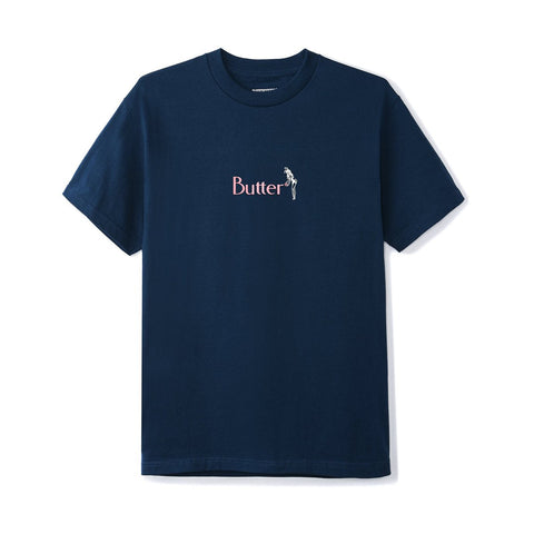 Butter Goods Bunny Tee / Navy