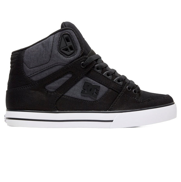 DC Pure High-Top WC TX SE / Black Dark Used