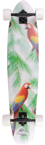 Shifty Parrot Kicktail Longboard 40""