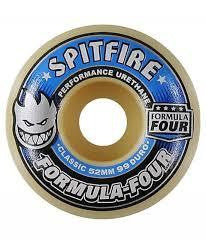 Spitfire Formula Four 99 Duro Wheels 52mm
