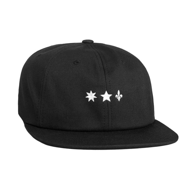 Huf x Sammy 6 Panel Hat / Black