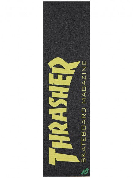 Mob x Thrasher Skate Mag Grip Tape / Yellow