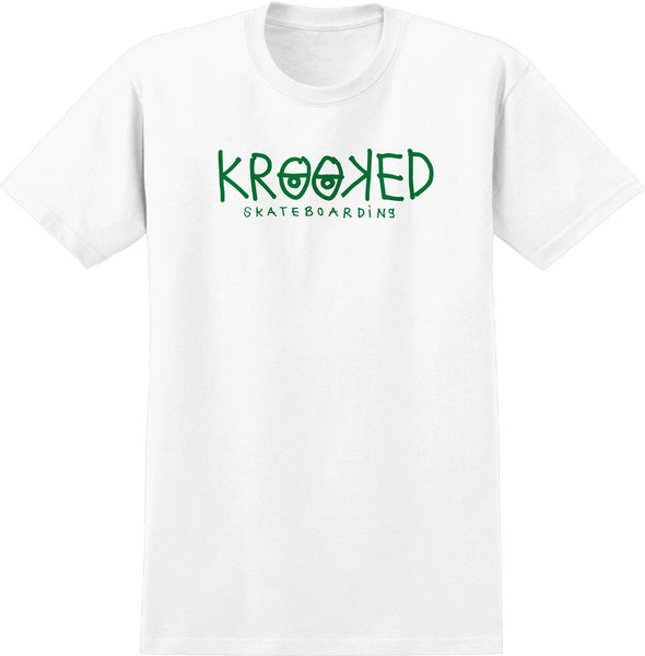 Krooked K Eyes Tee / White