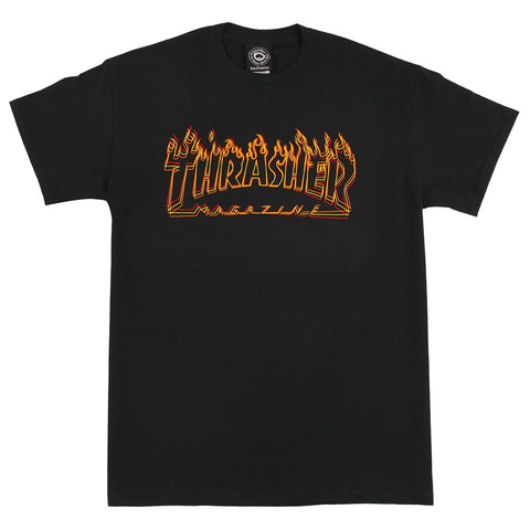 Thrasher Richter Tee / Black
