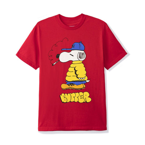 Butter Goods Lo Goose Tee / Red