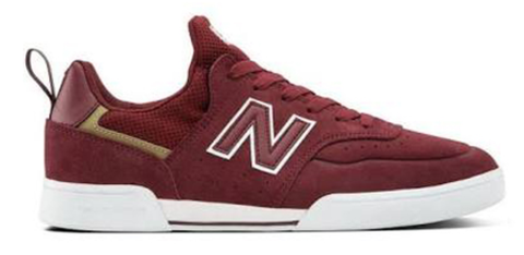NB Numeric 288S / Burgandy / White