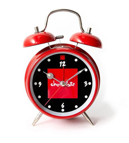 Chocolate Alarm Clock / Red