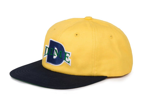 Dime Ball Hat / Yellow / Navy
