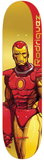 Primitive x Marvel Rodriguez Pro Iron Man Deck 8.125""