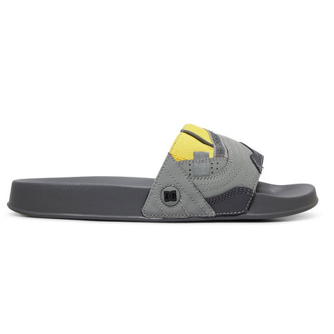 DC Stevie Williams Slide / Grey / Yellow