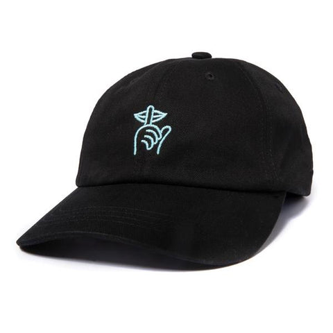 The Quiet Life Shhh Dad Hat / Black