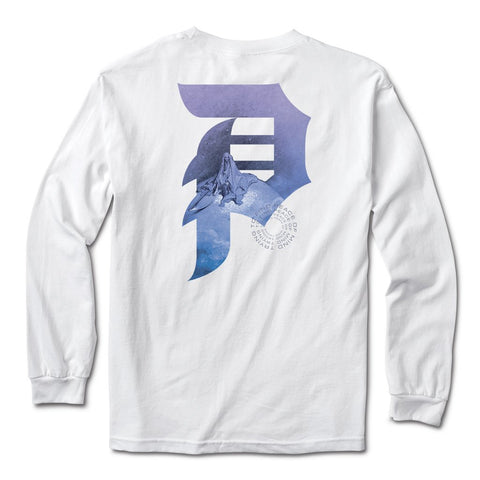 Primitive New Peace L/S Tee  / White