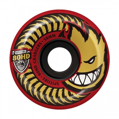 Spitfire 80HD Charger Red Wheels 54mm