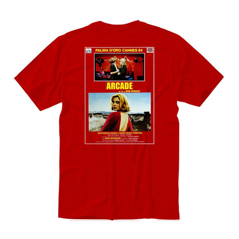 Arcade Paris Tee / Red