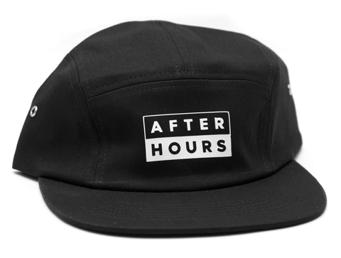 AfterHours 50/50 5 Panel Hat / Black