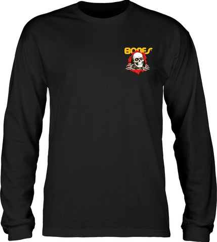 Powell Peralta Ripper Long Sleeve Tee / Black
