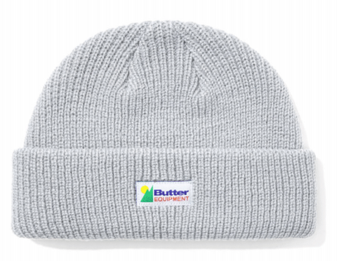 Butter Goods Equipment Wharfie Beanie / Silver