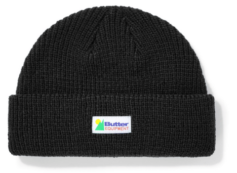 Butter Goods Equipment Wharfie Beanie / Black
