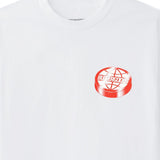 Butter Goods Disk Logo Tee / White
