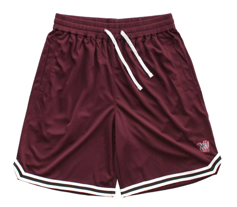 Vic Wing B Ball Shorts / Maroon