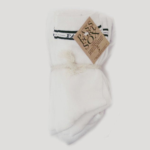 Passport Hi Socks 5 Pack / White