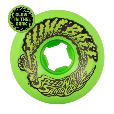 Santa Cruz Slime Balls Vomit Mini Green Glow 97a 58mm