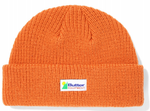 Butter Goods Equipment Wharfie Beanie / Rust