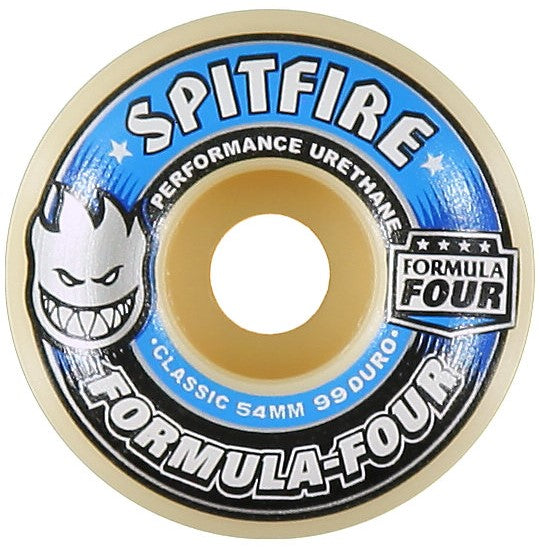 Spitfire Formula Four 99 Duro Wheels 51mm