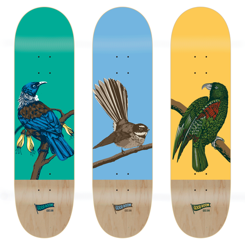 TGR Native Bird Series Full Set / 3 Boards