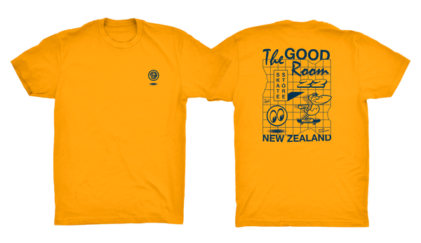 TGR Shadow Tee / Gold Yellow