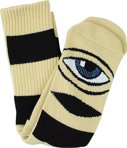 Toy Machine Big Stripe Socks / Camel