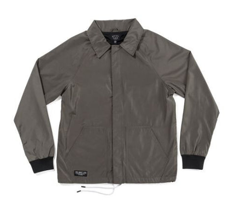 The Quiet Life Smoking Girl Garage Jacket - Charcoal